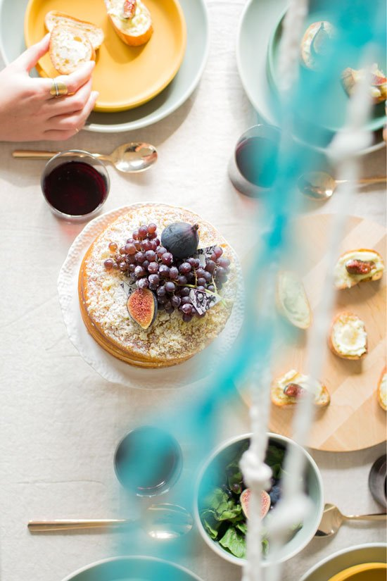 A DIY Summer to Fall Dinner Party