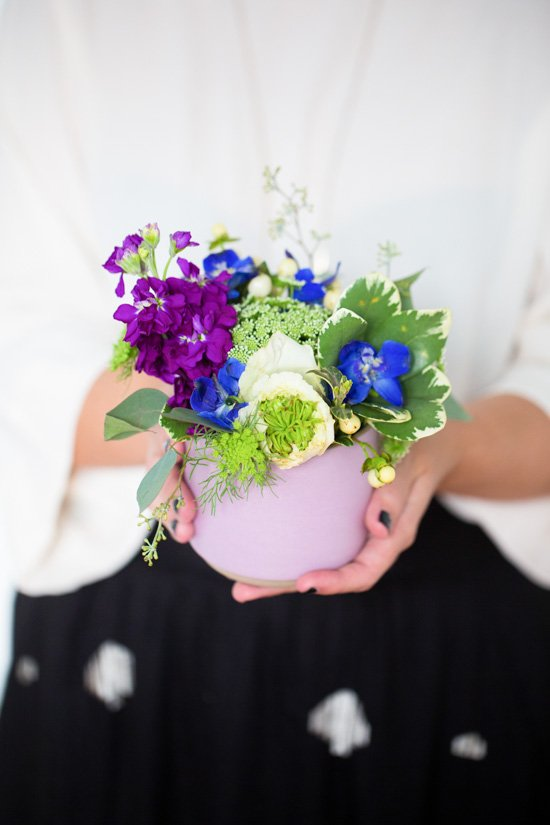 Easy DIY Floral Centerpieces