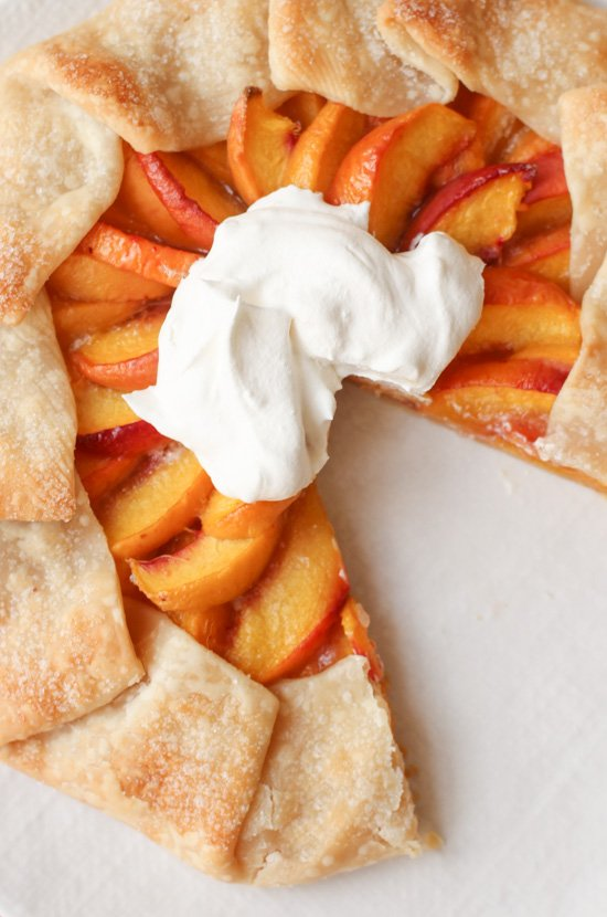How to Make a (Really Good) Peach Galette in Under an Hour