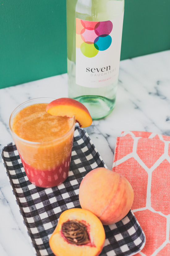 Just Peachy Frozen Sangria