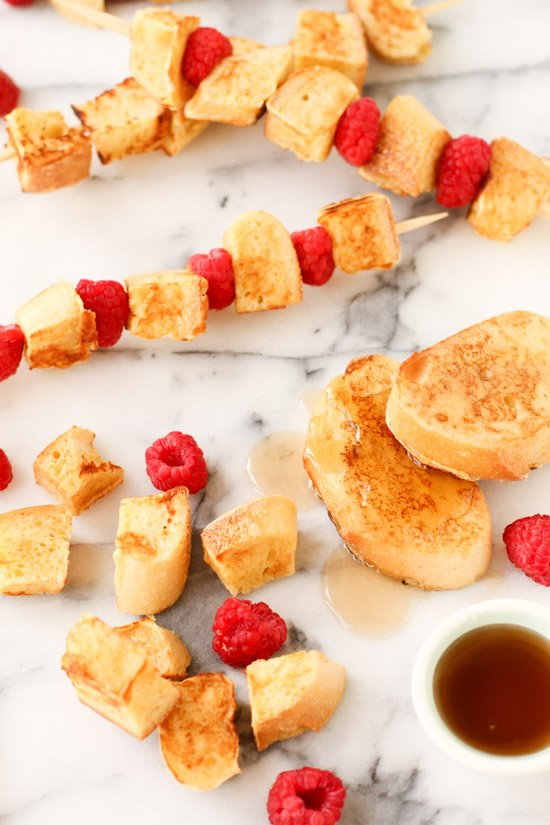 Recipe for French Toast Kabobs