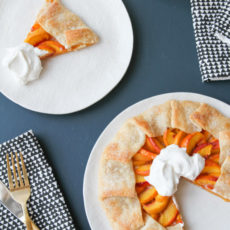 Peachy Keen: How to Make a (Really Good) Peach Galette in Under an Hour