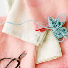 How to Transform Old Linens with this DIY Bleaching Technique