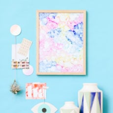 Head in the Clouds: Abstract Color Cloud Art in Under an Hour