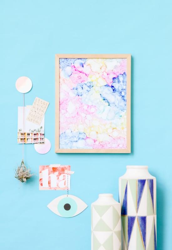 DIY Color Cloud Art in Under an Hour