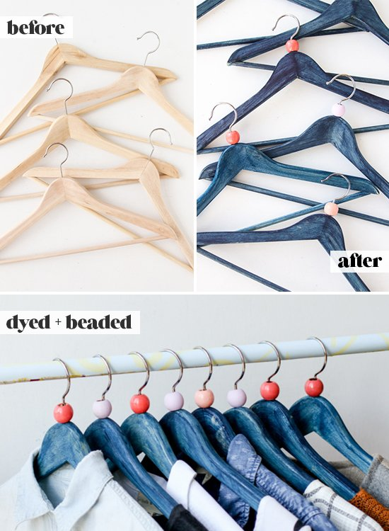How To Dye Wooden Clothing Hangers