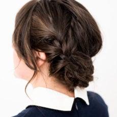 Hair Brained: Easy Reverse Crown Braid in 15 Minutes