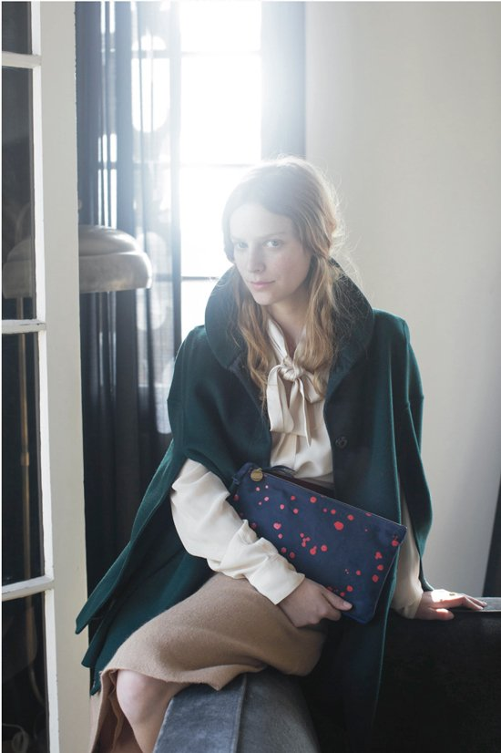 fall clutch from Clare V