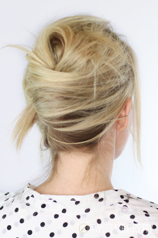 5 hair trends for fall 2015 (with tutorials for how to recreate each look at home) // textured french twist