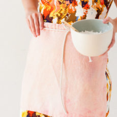 How to Sew a Cafe Apron in Ten Minutes or Less (with a Linen Napkin)