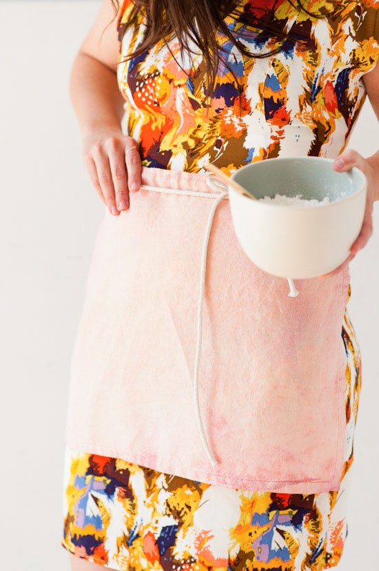 DIY Cafe Apron in Ten Minutes or Less