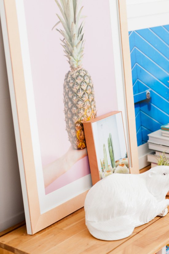How to make leather covered picture frames for artwork