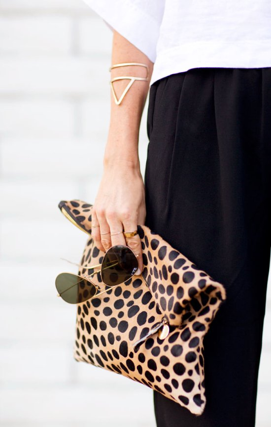 leopard clutch for fall