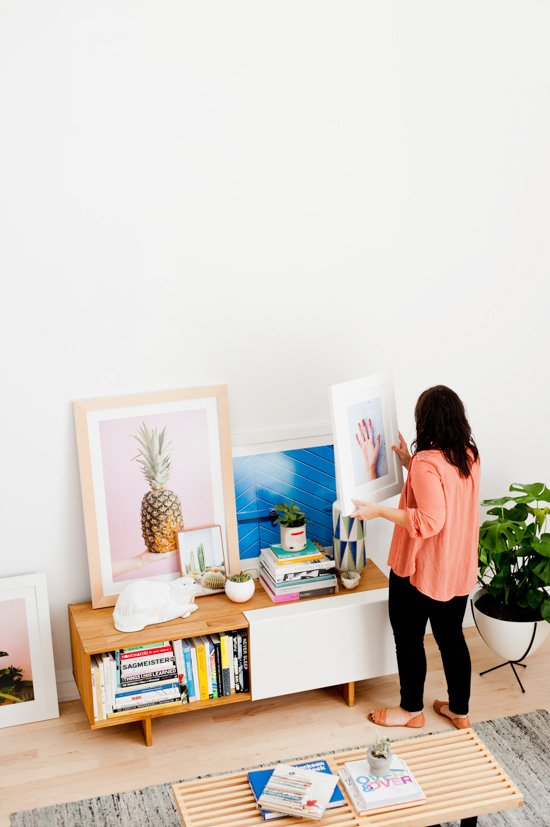 Organic Modern Living Room Reveal