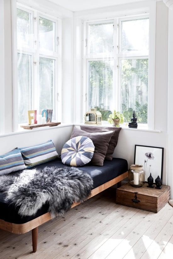 Corner bedroom with amazing natural light