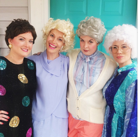24 Awesome DIY Halloween Costumes to Try This Year // DIY Golden Girls Costume