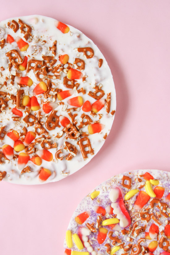Halloween Candy Bark Recipe (Two Ways)