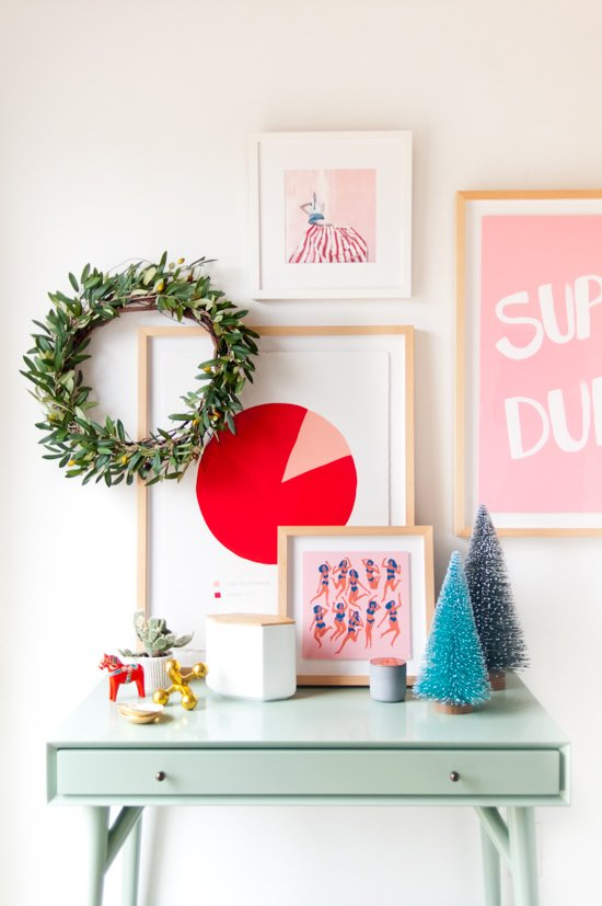 3 alternative ways to refresh your entryway for the holidays (without trying too hard)alternative-holiday-entryway-modern-contemporary-decor-full