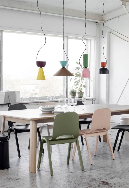 Quirky colorful light fixtures