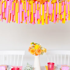 5 (Budget-Friendly) DIY Ways to Colorize your Dinner Table