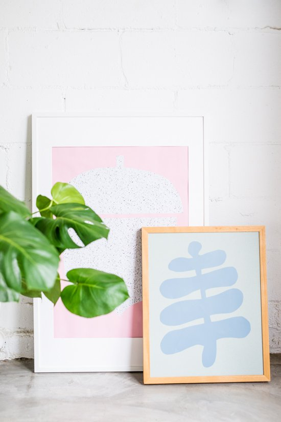 Creating DIY Statement Wall Art in Under 30 Minutes