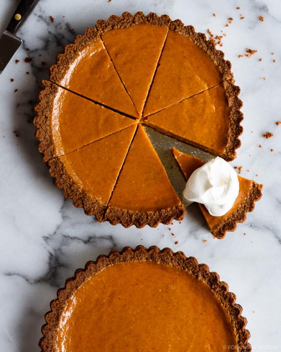 gingersnap pumpkin pie recipe