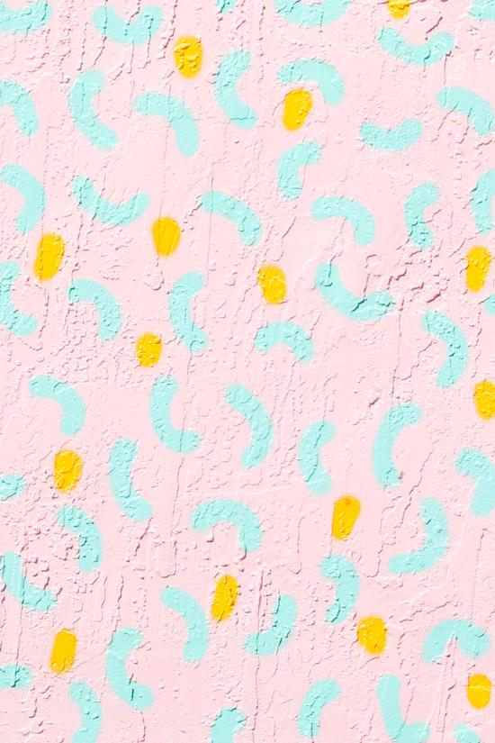 This pattern! // Kashink mural at Wynwood Walls