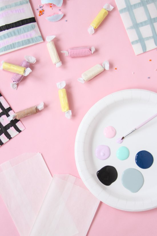 DIY Painted Favor Bags for Every Occasion