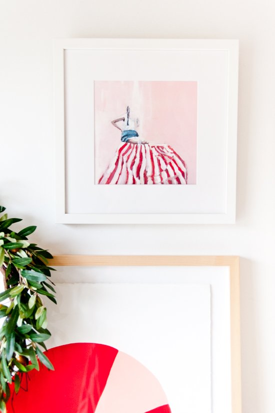 3 ways to refresh your entryway for the holidays with #Framebridge