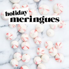 There Will Be Blood (Oranges): Blood Orange Vanilla Bean Meringues Recipe for the Holidays
