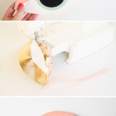 Eye Spy A Holiday Gift Idea to Try: How to Sew a DIY Eye Clutch and Makeup Bag