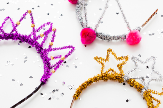 14 New Year's Eve DIYs to Try Before 2016 // DIY Party Crowns