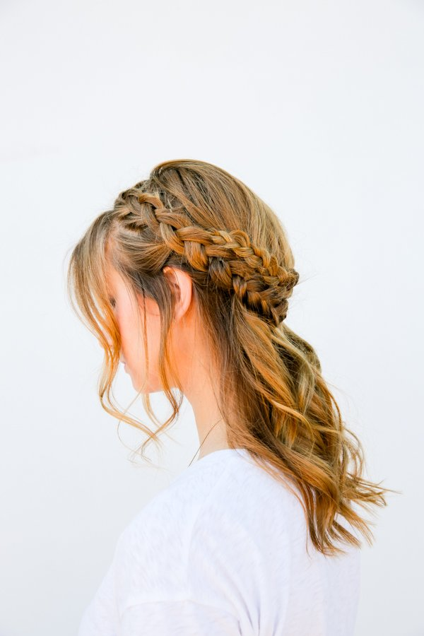 I Can See Your Halo Halo A Half Halo Braid Tutorial In