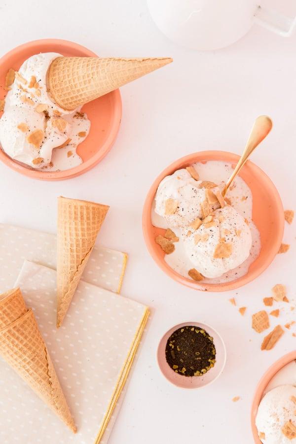 Homemade Chai Ice Cream Recipe