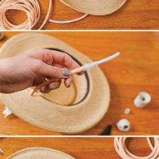 Hat Brat: How to Make a Unique DIY Pendant Light with a Hat