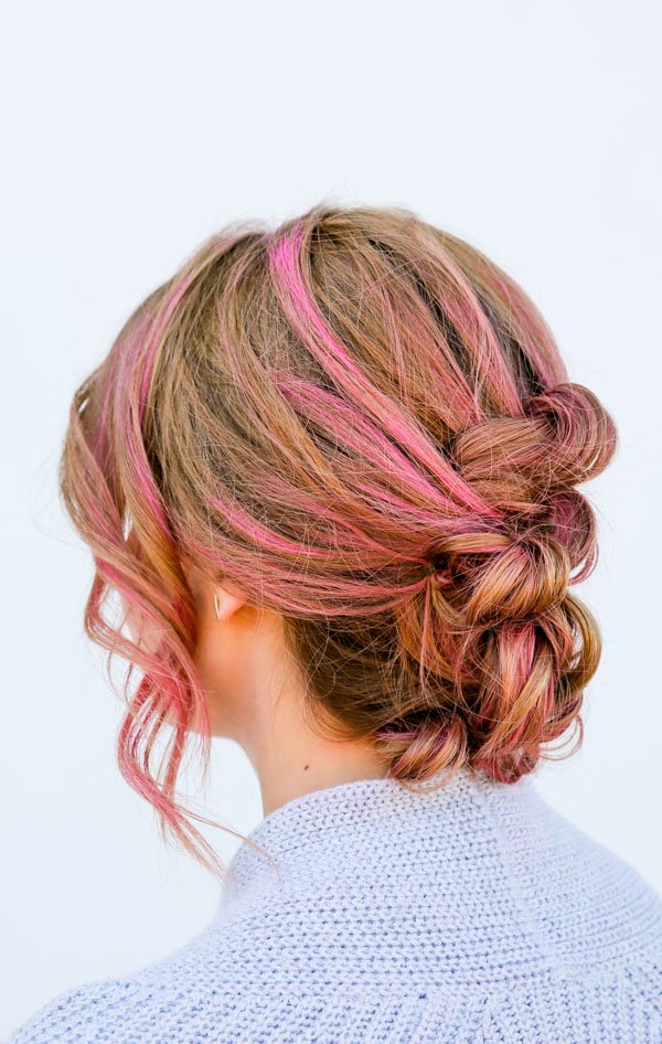 Knotted up do hair tutorial in 15 minutes