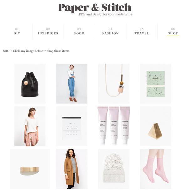 Shop Paper & Stitch