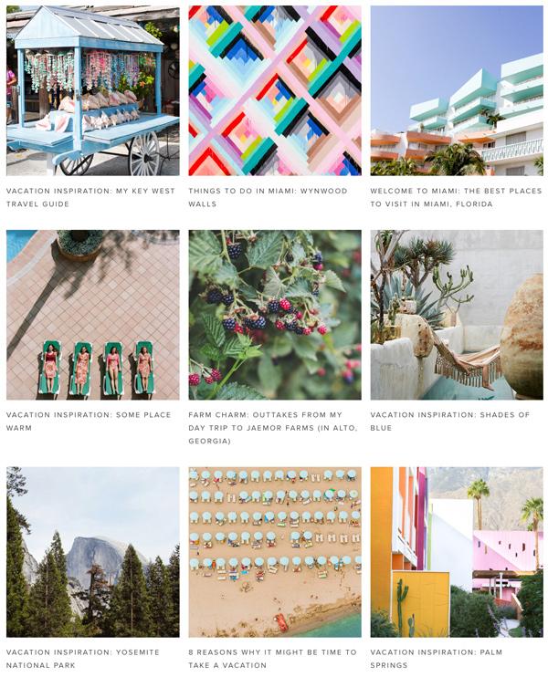 Vacation Inspiration on Paper & Stitch