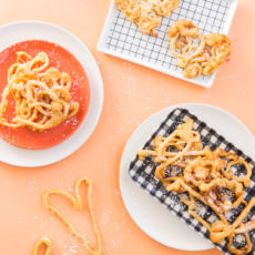 Playing with Your Food: Funnel Cake Love Letters for Valentine's Day