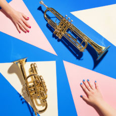 Color Block Vibes: Behind the Scenes Nail Game