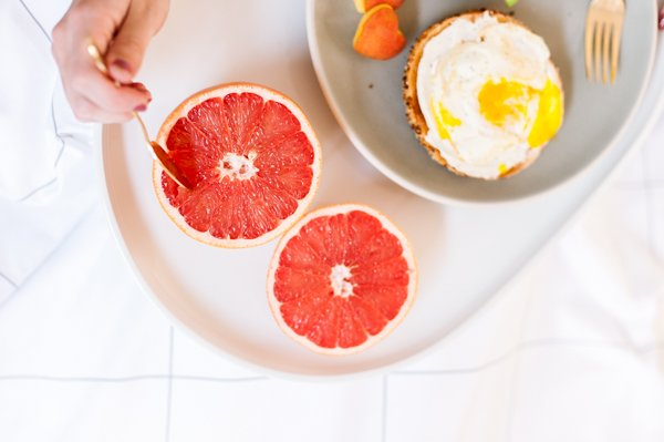 Grapefruit and Bagels