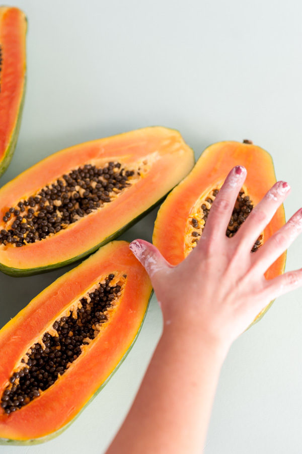 Behind the Scenes at Paper & Stitch: Covered in Paint and Papayas