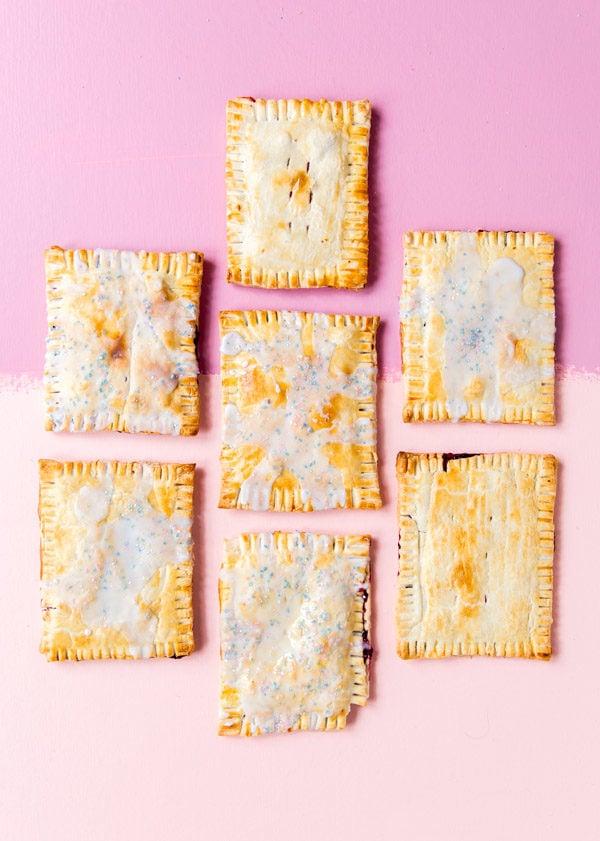 Homemade pop tarts. Click through for the recipe.