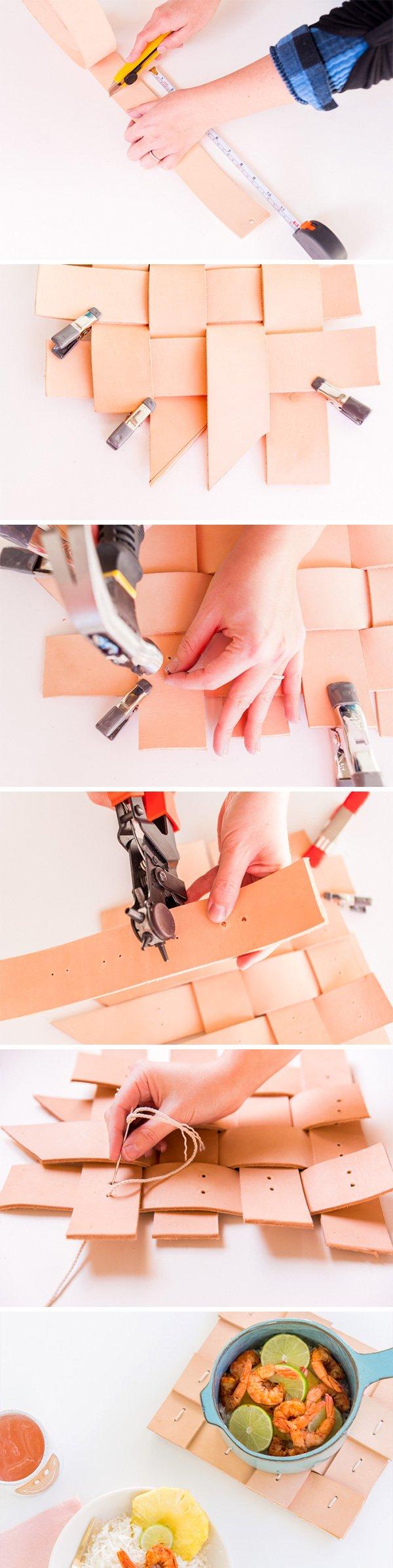 how-to-make-aleather-pot-holder
