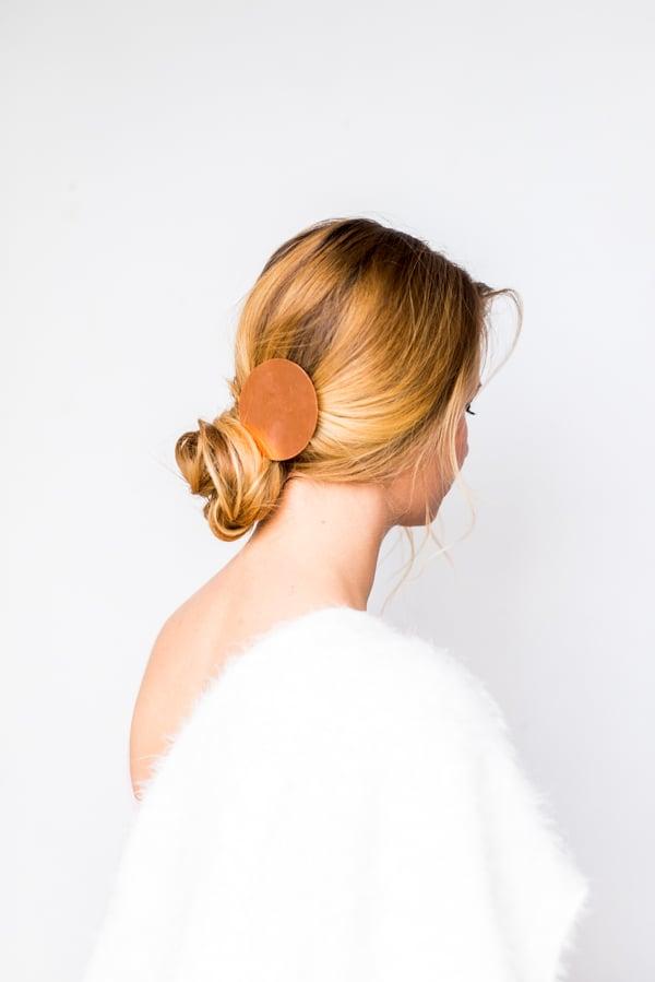 DIY Copper Statement Hair Accessory