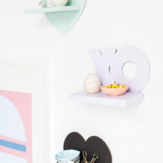 Top Shelf: V-Day Mini DIY Shelves for Under $5