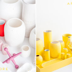 Oopsy Daisy: A Monochromatic Centerpiece that Will Make a Bold Statement for Spring