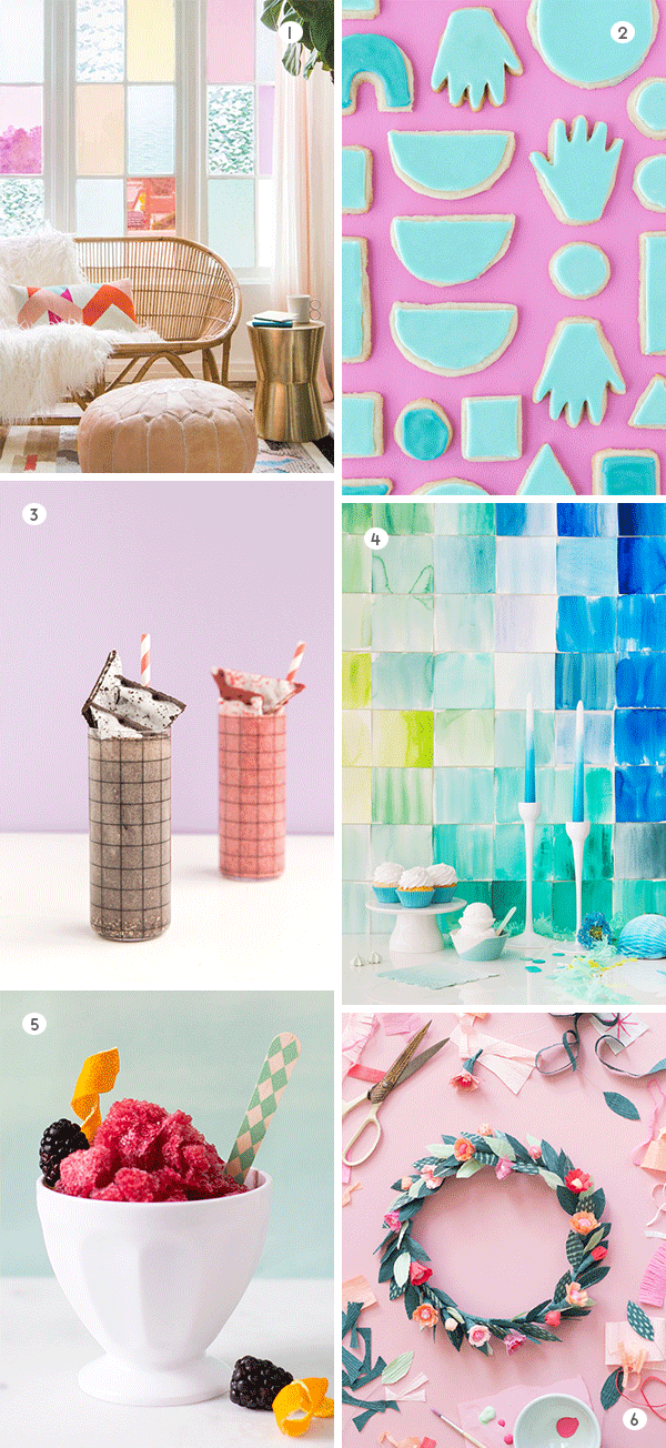 6 colorful DIYs to try this weekend