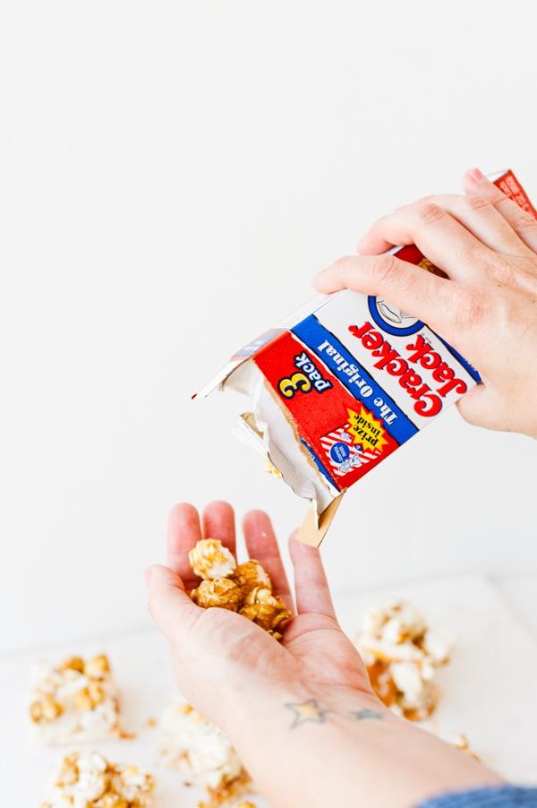 Cracker jack fudge recipe