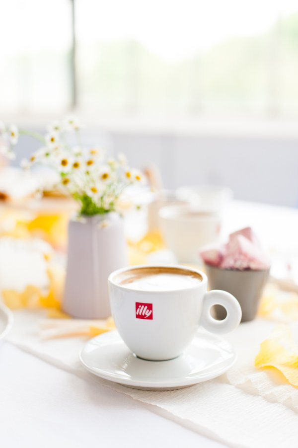 A DIY Mother's Day Brunch will illy coffee